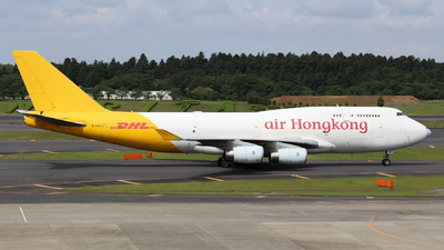 B-HUS - Boeing 747-444(BCF) - Air Hong Kong