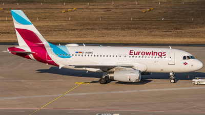 A picture of DAGWD - Airbus A319132 - Eurowings - © Pat Leinweber