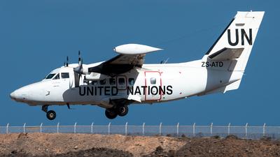 ZS-ATD - Let L-410UVP-E20 Turbolet - United Nations (UN)