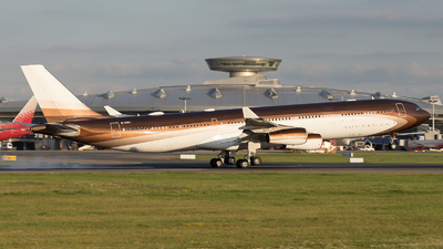 M-IABU - Airbus A340-313X - Klaret Aviation