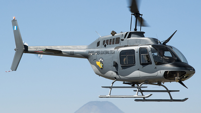 115 - Bell 206B JetRanger III - Guatemala - Air Force