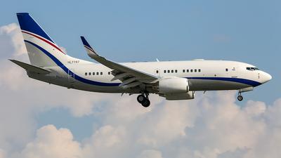 A picture of HL7787 - Boeing 73775G(BBJ) - [36852] - © Sieu Viet - SFAP
