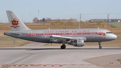 C-FZUH - Airbus A319-114 - Air Canada
