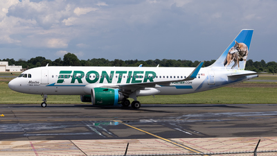 N383FR - Airbus A320-251N - Frontier Airlines