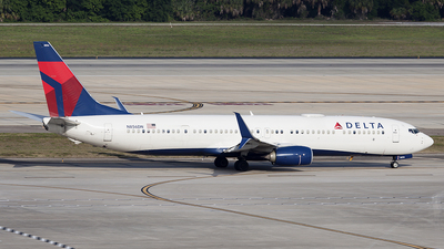 A picture of N856DN - Boeing 737932(ER) - Delta Air Lines - © Bruce Leibowitz