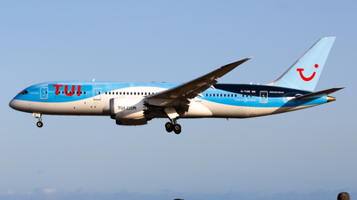 A picture of GTUIE - Boeing 7878 Dreamliner - TUI fly - © aaron_gcrr