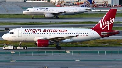 N527VA - Airbus A319-112 - Virgin America