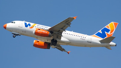 EI-ECY - Airbus A319-132 - Wind Jet