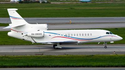 RA-09005 - Dassault Falcon 7X - Private