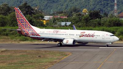 PK-LZM - Boeing 737-8GP - Batik Air