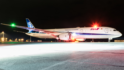 JA875A - Boeing 787-9 Dreamliner - All Nippon Airways (ANA)
