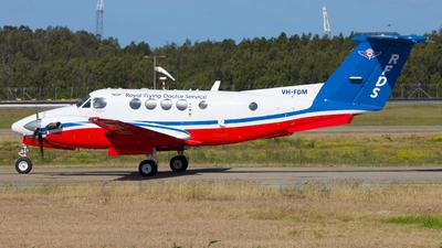 VH-FDM - Beechcraft 200C Super King Air - Royal Flying Doctor Service of Australia (Queensland Section)
