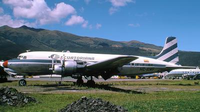 HC-AMF - Douglas DC-6 - Ecuatoriana de Aviación