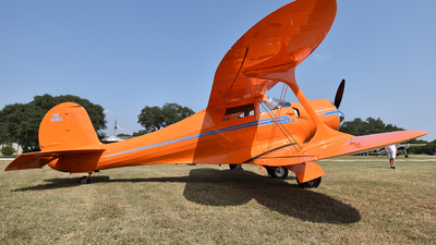 NC333E - Beechcraft D17A Staggerwing - Private