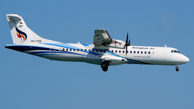 HS-PZD - ATR 72-212A(600) - Bangkok Airways