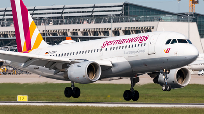 D-AKNV - Airbus A319-112 - Eurowings