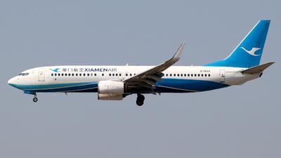A picture of B5632 - Boeing 73785C - Xiamen Air - © Lewis Edward Latham