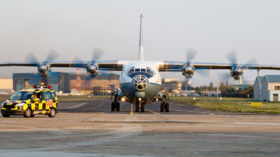 UR-CBG - Antonov An-12BK - Cavok Air