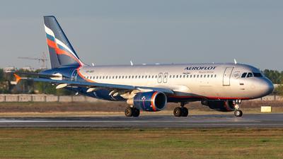 A picture of VPBID - Airbus A320214 - Aeroflot - © Marianna Rychkovskaia