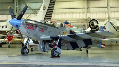 N98CF - North American P-51K Mustang - Private