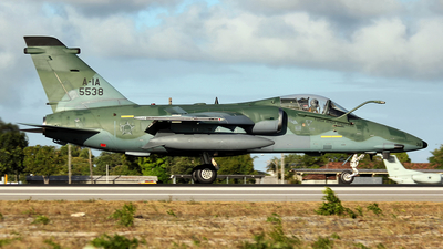FAB5538 - Alenia/Aermacchi/Embraer AMX - Brazil - Air Force