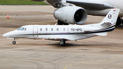 YU-SPC - Cessna 560XL Citation XLS+ - Prince Aviation