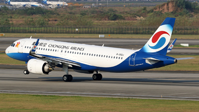 B-302J - Airbus A320-251N - Chongqing Airlines