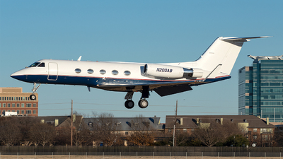 N200AB - Gulfstream G-III - Private