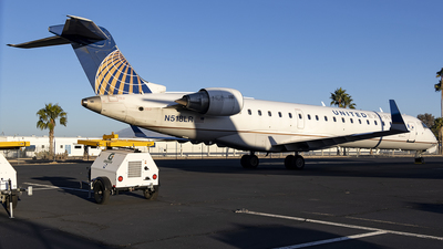 N518LR - Bombardier CRJ-701ER - United Express (Mesa Airlines)