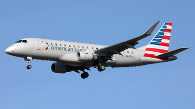 A picture of N446YX - Embraer E175LR - American Airlines - © Len Schwartz