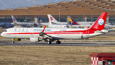 B-8376 - Airbus A321-211 - Sichuan Airlines