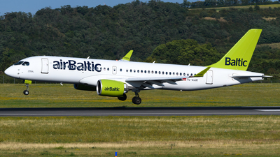 A picture of YLAAR - Airbus A220300 - Air Baltic - © Chris Jilli