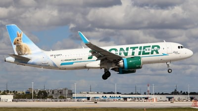 A picture of N349FR - Airbus A320251N - Frontier Airlines - © Andriy Yegorov