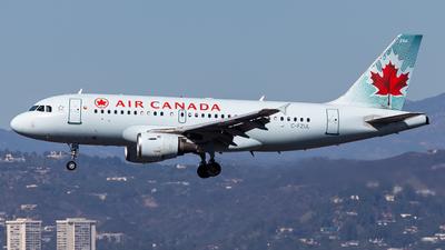 A picture of CFZUL - Airbus A319114 - Air Canada - © Brandon Giacomin