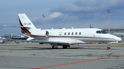 CS-LAU - Cessna Citation Latitude - NetJets Europe