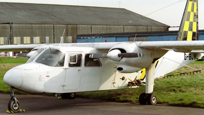 G-BJWL - Britten-Norman BN-2 Islander - Harvestair