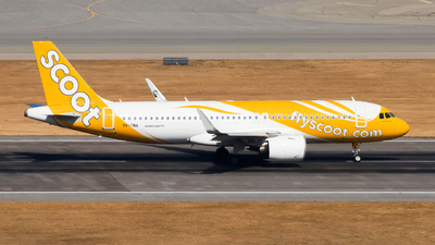 9V-TNA - Airbus A320-271N - Scoot