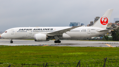 JA821J - Boeing 787-8 Dreamliner - Japan Airlines (JAL)