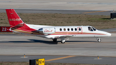 N404RP - Cessna 550 Citation II - Private