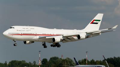 A6-MMM - Boeing 747-422 - United Arab Emirates - Dubai Air Wing