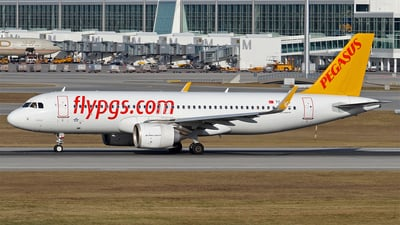 TC-NBA - Airbus A320-251N - Pegasus Airlines