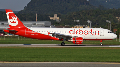 OE-LED - Airbus A320-214 - Air Berlin (Niki)