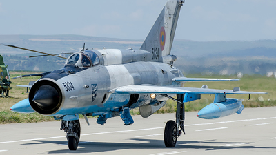 5834 - Mikoyan-Gurevich MiG-21MF Lancer C - Romania - Air Force
