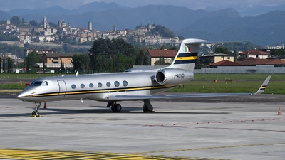 I-ADVD - Gulfstream G550 - Private