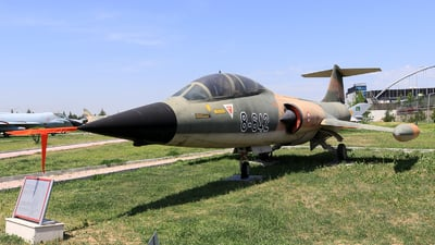 62-642 - Canadair CF-104D Starfighter - Turkey - Air Force
