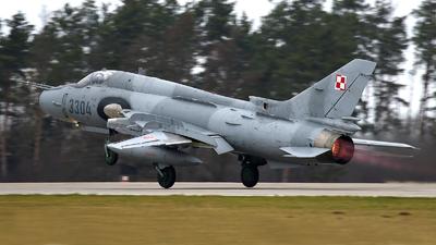 3304 - Sukhoi Su-22UM Fitter - Poland - Air Force