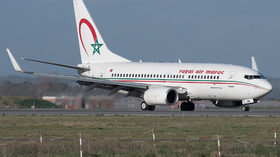 A picture of CNROD - Boeing 7377B6 - Royal Air Maroc - © Gianluca Mantellini