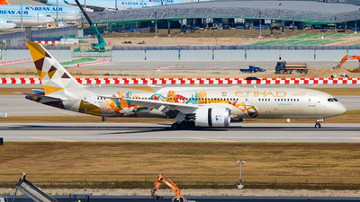 A6-BLT - Boeing 787-9 Dreamliner - Etihad Airways