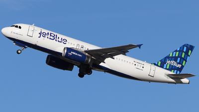 N589JB - Airbus A320-232 - jetBlue Airways
