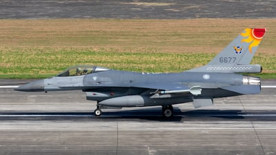 6677 - General Dynamics F-16AM Fighting Falcon - Taiwan - Air Force